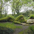 Mud Maid, Lost Gardens of Heligan, Cornwall