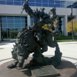 Orc statue at Blizzard HQ, Irvine