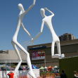 Dancing naked aliens, Denver