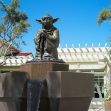 Yoda Fountain at Lucasfilms HQ, San Francisco