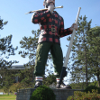Paul Bunyan statue, Maine