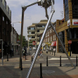 Martian tripod, Woking, Surrey