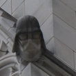 Darth vader gargoyle in the Washington National Cathedral